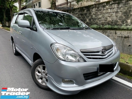 2010 TOYOTA INNOVA 2.0 E (M) ONE TEACHER OWNER