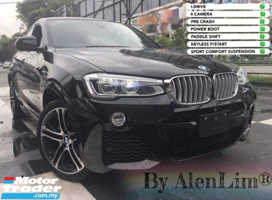 2015 BMW X4 FREE VKOOL / 360CAM PRE CRASH Bmw X4 M SPORT 2.0T