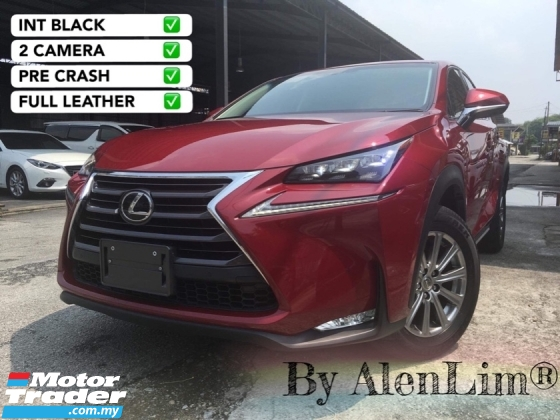 2015 LEXUS NX 200T SPICY RED PRE CRASH Lexus NX200T NX200 2.0
