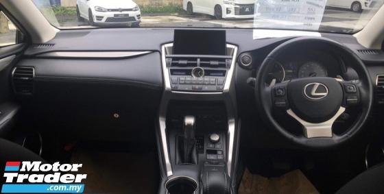 2015 LEXUS NX 200T SPICY RED PRE CRASH Lexus NX200T NX200 2.0
