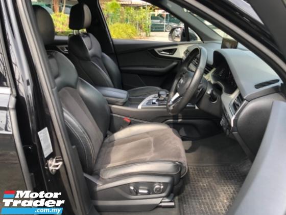 2016 AUDI Q7 Unreg Audi Q7 TDI 3.0 Turbo Diesel S Line Sport Camera Power Boot Paddle Shift 8G SST Deduction