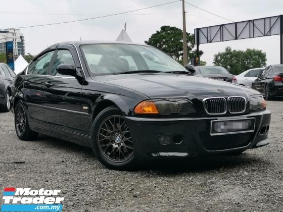 2001 BMW 3 SERIES 320I E46 2.0