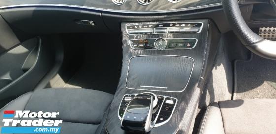 2018 MERCEDES-BENZ E-CLASS E300 COUPE AMG SPORT PREMIUM LINE DEMO CAR AT UK
