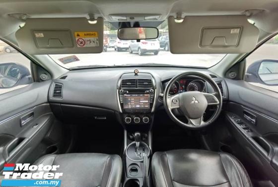 2014 MITSUBISHI ASX 2.0L 2WD FULL SERVICE RECORD