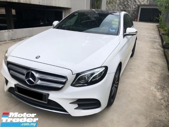 2016 MERCEDES-BENZ E-CLASS E300 AMG INLINE SEDAN REG2017 AFTER SALE TAX OFFER