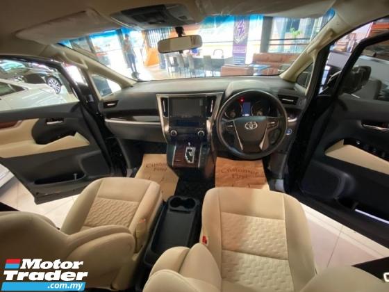2017 TOYOTA ALPHARD Toyota Alphard 2.5 X with Modelista bodykit