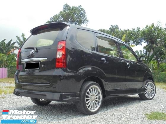 2007 TOYOTA AVANZA 1.5 G Facelift TRD TipTOP LikeNEW