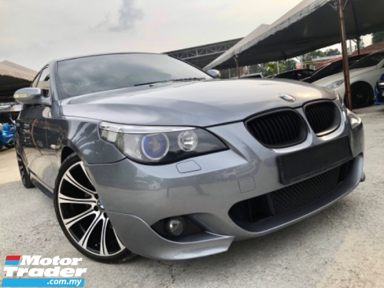 2006 BMW 5 SERIES E60 2.5 525i M-SPORT (A) FACELIFT SUNROOF LIMITED