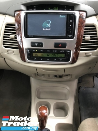 2014 TOYOTA INNOVA 2.0 G FACELIFT (A) 1 OWNER [SELL BELOW MARKET]