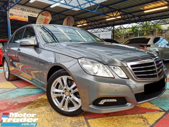 2009 MERCEDES-BENZ E-CLASS Mercedes Benz E250 1.8 BlueEFCY AVANTGARDE WARRNTY