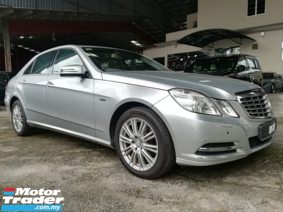 2010 MERCEDES-BENZ E-CLASS E200 CGI BLUE EFFICIENCY LOCAL NAVIGATION