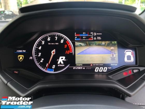 2017 LAMBORGHINI HURACAN 5.2 V10 Lifting System Full Body Kit Full LED Lights Ceramic Brake Reverse Camera Strada Sport Corsa