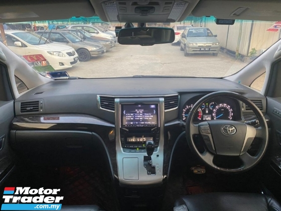 2012 TOYOTA ALPHARD 2.4 SC EDITION WITH PILOT SEAT FULL SPEC