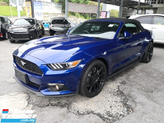 2016 FORD MUSTANG 2.3 Eco Boost Coupe CONVERTIBLE SALES TAX OFFER Unreg