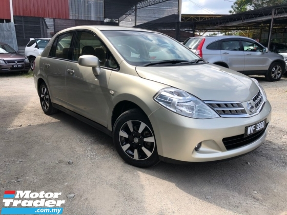 2011 NISSAN LATIO 1.6L ST-L