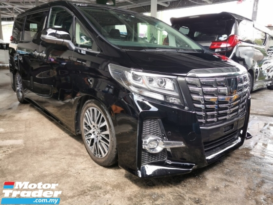 2015 TOYOTA ALPHARD 2.5 SC / JBL SOUND / 4 CAMERA ORIGINAL TOYOTA JAPAN / READY STOCK NO NEED WAIT