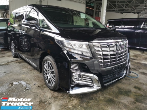 2015 TOYOTA ALPHARD 2.5 SC / READY STOCK OFFER NO NEED WAIT / FREE 5 YEARS WARRANTY UNLIMITED KM