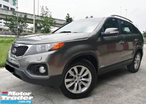 2013 KIA SORENTO 2.4  PANORAMIC ROOF VVIP PLATE NUMBER