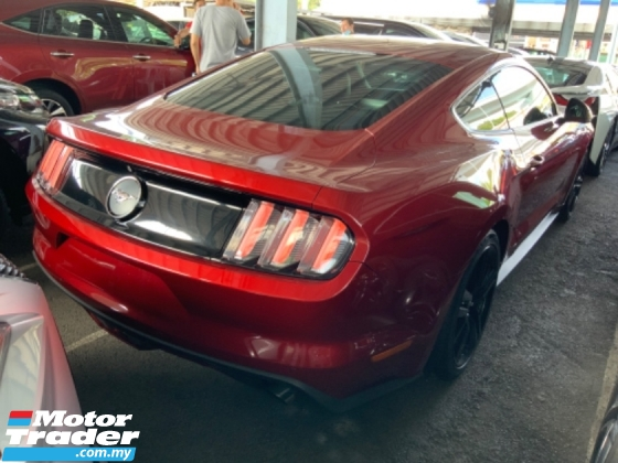 2016 FORD MUSTANG 2.3 Eco boost coupe paddle shift push start back camera many units Unregistered