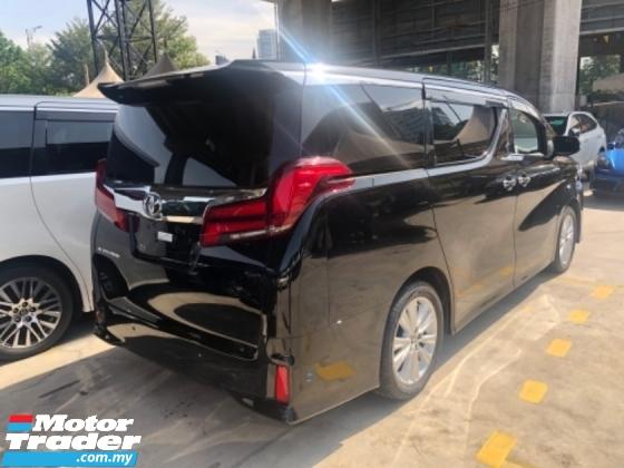 2018 TOYOTA ALPHARD Unreg Toyota Alphard SA 2.5 Facelift 360view 7seats 360view PowerBoot SunRoof Push Start SST Deduct