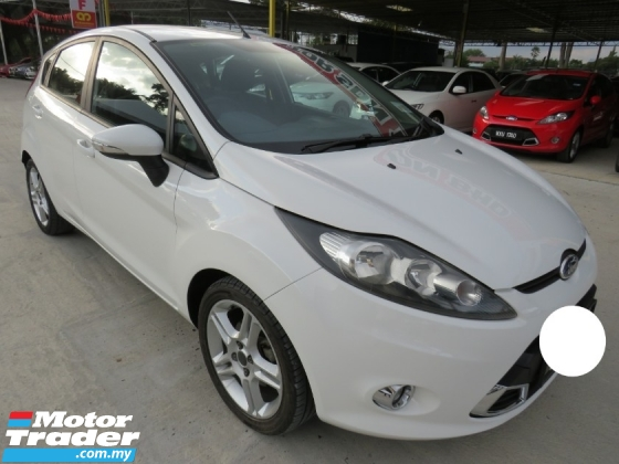 2013 FORD FIESTA 1.6L (A) SPORT 6 SPEED ONE LADY OWNER HIGH LOAN
