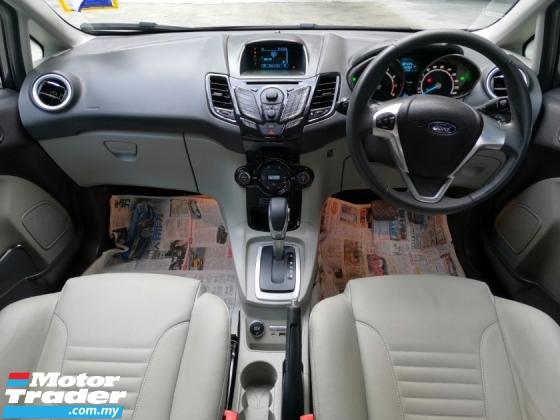 2013 FORD FIESTA Ford Fiesta 1.5A TITANIUM PREMIUM SPEC NEWFACELIFT