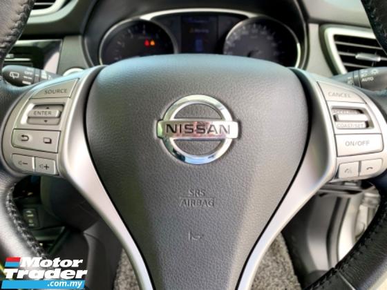 2017 NISSAN X-TRAIL 2.0L X-CVT 360 CAMERA LEATHER SEAT