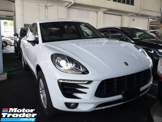 2015 PORSCHE MACAN 2.0 TURBO JAPAN SPEC 50% SALES TAX DISCOUNT