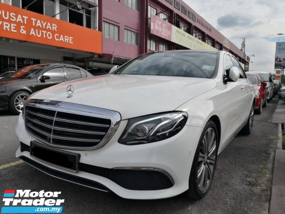 2017 MERCEDES-BENZ E-CLASS E250 W213 New Model TRUE YEAR MADE 2017 Exclusive Mil 65k km only Full Service Under Warranty 2021