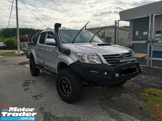 2012 TOYOTA HILUX 2.5 VNT. 100%- No Off-Road 100%- Genuine Mileage 100%- Actual Year Made. 100%- Full Service Record