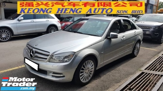 2010 MERCEDES-BENZ C-CLASS C250 CGI (A) FREE 2 YEARS WARRANTY , MILEAGE 95K