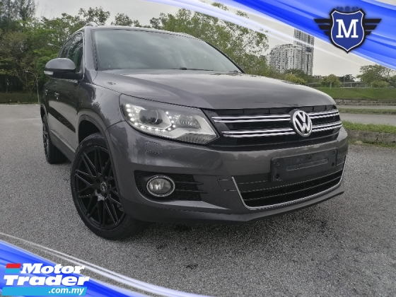 2014 VOLKSWAGEN TIGUAN 1.4 TSI SPORT RIM SUV TIP TOP CONDITION