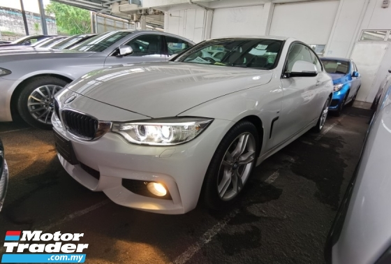 2015 BMW 4 SERIES 420i M SPORT COUPE MULTIFUNCTION STEERING PARKING CAMERA 2015 JAPAN UNREG