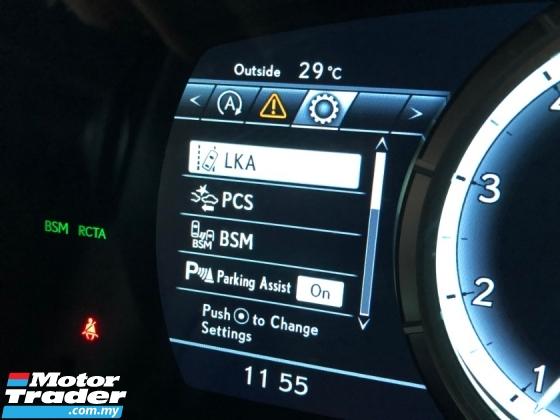 2018 LEXUS RX RX300 F Sport 2.0 Turbo Intelligent 3LED Panoramic Roof Memory Seat HUD PCS LKA BSM ICS Unreg