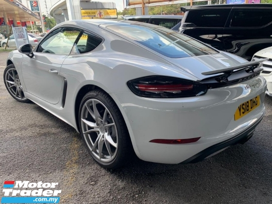 2018 PORSCHE CAYMAN CAYMAN 718 2.0 New Model Unregister Bose 20\
