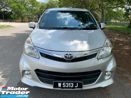 2014 TOYOTA AVANZA 1.5 S (A) Full Service Record 1 Old Uncle Use Only