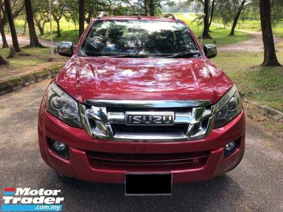2014 ISUZU D-MAX 2.5L 4X4 DOUBLE CAB (A) VGS TURBODIESEL HI-RIDE