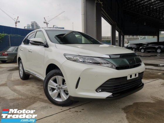 2019 TOYOTA HARRIER 2.0 ELEGANCE NEW CAR WHITE OFFER BEST DEAL UNREG