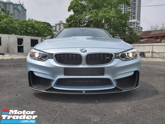 2016 BMW M4 3.0 M POWER SILVER STONE UNREG HARMON KARDON