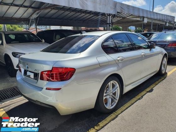2016 BMW 5 SERIES 520i M-Sport Facelift CKD *53k km* Under warranty