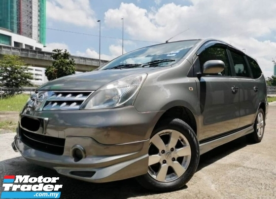 2011 NISSAN GRAND LIVINA IMPUL 1.8L  LUXURY SPEC 1 MALAY OWNER