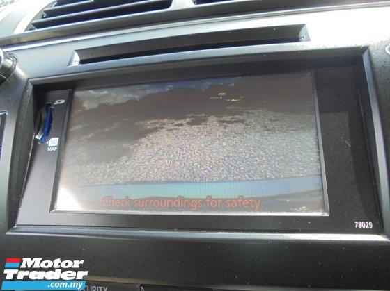 2012 TOYOTA CAMRY  2.5 V Sedan Dual VVT-i TRD Keyless PushStart NAVI ReverseCamera LikeNEW
