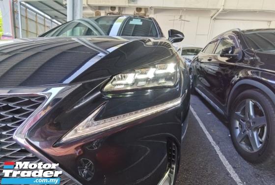 2016 LEXUS NX NX200T F SPORT PANORAMIC ROOF MEMORY SEAT CAMERA PRE CRASH 2016 JAPAN UNREG LIKE NEW CAR