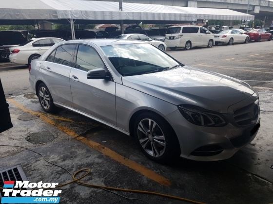 2013 MERCEDES-BENZ E-CLASS E200 CKD Avantgarde (A) LIKE NEW