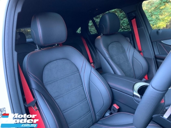 2019 MERCEDES-BENZ GLC GLC43 AMG 3.0 Coupe 4Matic New Car Mileage UNREG
