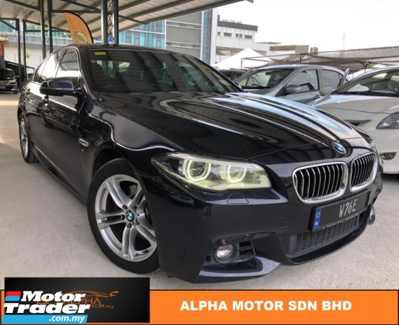 2013 BMW 5 SERIES 528i M-SPORTS 2.0 LCI (A) F10 OTR PRICE