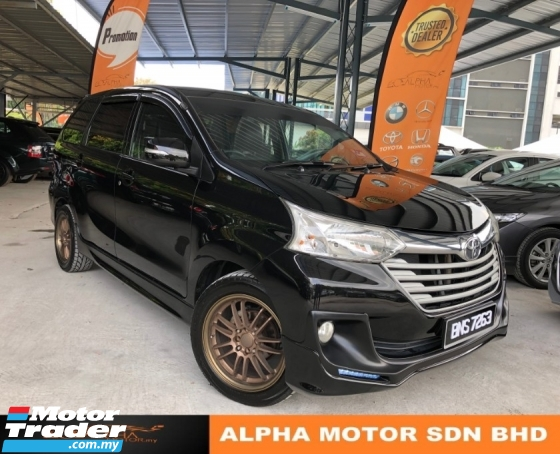 2016 TOYOTA AVANZA 1.5 G (A) NO PROCESSING FEE