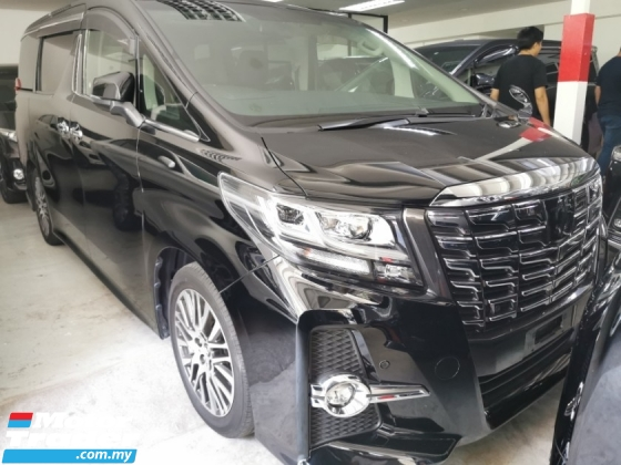 2015 TOYOTA ALPHARD 2.5SC / SUNROOF / LEATHER / TIPTOP CONDITION