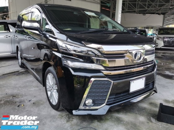 2015 TOYOTA VELLFIRE 2.5 ZA / TIPTOP CONDITION ORIGINAL MILEAGE / 5 YEARS WARRANTY UNLIMITED KM