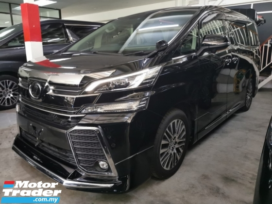2016 TOYOTA VELLFIRE ZG 2.5 / MODELLISTA / SUNROOF / LEATHER / READY STOCK NO NEED WAIT
